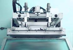 Ο αναδρομικός Τύπος εκτύπωσης η τεχνική εκτύπωσης Στοκ Εικόνα