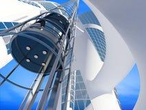 Ο ανελκυστήρας Στοκ Εικόνες