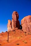 Ο αντίχειρας, εθνικό πάρκο κοιλάδων μνημείων στοκ εικόνα