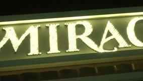 Ο αντικατοπτρισμός σε CIRCA 2014 στο Λας Βέγκας απόθεμα βίντεο