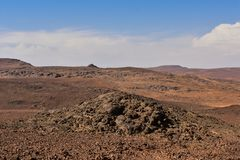 Ο αντι-άτλαντας είναι η παλαιότερη σειρά βουνών στο Μαρόκο Στοκ εικόνες με δικαίωμα ελεύθερης χρήσης