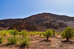 Ο αντι-άτλαντας είναι η παλαιότερη σειρά βουνών στο Μαρόκο Στοκ Εικόνα