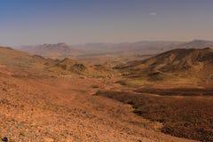 Ο αντι-άτλαντας είναι η παλαιότερη σειρά βουνών στο Μαρόκο Στοκ Εικόνες