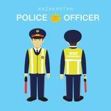 ο ανώτερος υπάλληλος απεικόνισης σχεδίου σας αστυνομεύει Στοκ φωτογραφία με δικαίωμα ελεύθερης χρήσης