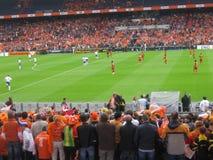 Ολλανδία εναντίον της Γκάνας 2010 (στάδιο Feyenoord) Ρότερνταμ Στοκ Εικόνες