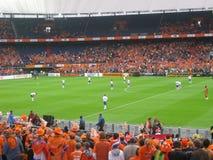 Ολλανδία εναντίον της Γκάνας 2010 (στάδιο Feyenoord) Ρότερνταμ Στοκ Εικόνα
