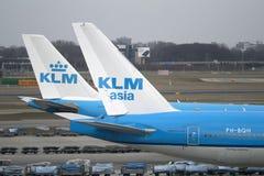 Ολλανδικά αεροπλάνα Στοκ εικόνα με δικαίωμα ελεύθερης χρήσης
