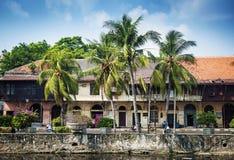 Ολλανδικά αποικιακά κτήρια στην παλαιά πόλη της Τζακάρτα Ινδονησία Στοκ φωτογραφία με δικαίωμα ελεύθερης χρήσης
