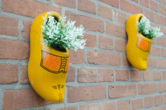 ολλανδικά παπούτσια ξύλινα Στοκ εικόνα με δικαίωμα ελεύθερης χρήσης