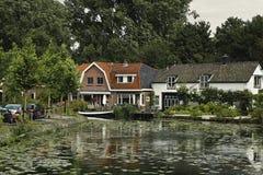 ολλανδικά σπίτια Στοκ φωτογραφίες με δικαίωμα ελεύθερης χρήσης