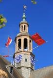 Ολλανδικές εθνικές σημαίες Στοκ εικόνες με δικαίωμα ελεύθερης χρήσης