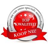Ολλανδικές επιχειρησιακές κορδέλλα/ετικέτα - ειδική προσφορά Στοκ εικόνες με δικαίωμα ελεύθερης χρήσης
