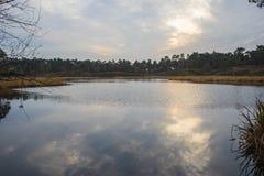 Ολλανδική λίμνη Στοκ φωτογραφία με δικαίωμα ελεύθερης χρήσης