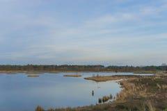 Ολλανδική λίμνη Στοκ φωτογραφίες με δικαίωμα ελεύθερης χρήσης
