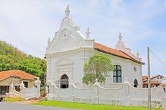 Ολλανδική ανασχηματισμένη εκκλησία οχυρών Galle, παγκόσμια κληρονομιά της ΟΥΝΕΣΚΟ της Σρι Λάνκα στοκ φωτογραφία