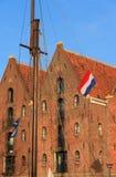 Ολλανδική αποθήκη εμπορευμάτων Στοκ εικόνα με δικαίωμα ελεύθερης χρήσης