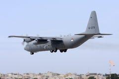 Ολλανδική Πολεμική Αεροπορία Hercules Στοκ Εικόνες