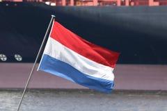 ολλανδική σημαία στοκ φωτογραφίες με δικαίωμα ελεύθερης χρήσης