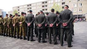 Ολλανδική στρατιωτική παρέλαση φιλμ μικρού μήκους
