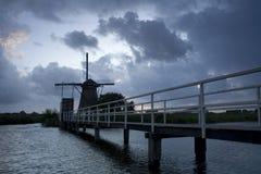 Ολλανδικός ανεμόμυλος Στοκ Εικόνα
