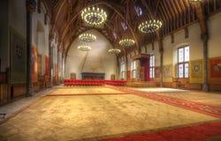 ολλανδικός θρόνος δωματίων Στοκ φωτογραφία με δικαίωμα ελεύθερης χρήσης