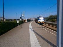 Ολλανδικός σιδηροδρομικός σταθμός Στοκ Εικόνες
