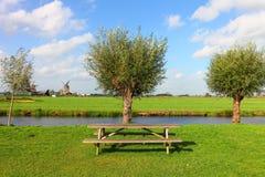 Ολλανδικό βουκολικό ποίημα Στοκ Εικόνα