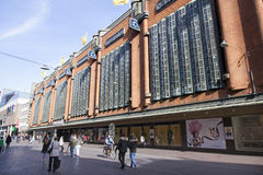 Ολλανδικό εμπορικό κέντρο bijenkorf στη Χάγη Στοκ φωτογραφία με δικαίωμα ελεύθερης χρήσης