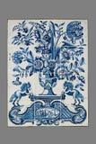 Ολλανδικό κεραμίδι από το 16ο στο δέκατο όγδοο αιώνα Στοκ εικόνες με δικαίωμα ελεύθερης χρήσης