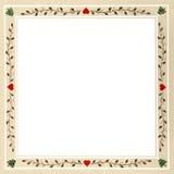 Ολλανδικό πλαίσιο Χριστουγέννων της Πενσυλβανίας Στοκ εικόνα με δικαίωμα ελεύθερης χρήσης