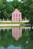 ` Ολλανδικό σπίτι ` στο φέουδο ` Kuskovo `, Μόσχα Sheremetev ` s Στοκ εικόνα με δικαίωμα ελεύθερης χρήσης