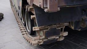 Ολλανδικό στρατιωτικό όχημα απόθεμα βίντεο