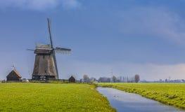 ολλανδικό τοπίο στοκ εικόνες