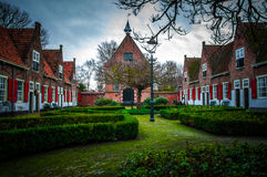 ολλανδικό χωριό Στοκ Εικόνες