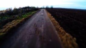 Ο απαίσιος δρόμος Ο παλαιός θλιβερός δρόμος Ο γεωργικός δρόμος φιλμ μικρού μήκους