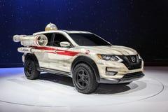 Ο απατεώνας της Nissan που παρουσιάζεται διεθνή στον αυτόματο της Νέας Υόρκης παρουσιάζει 2017 Στοκ Φωτογραφία