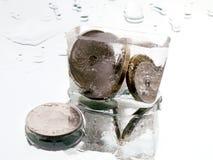 ο απολογισμός 2 εμπόδισε παγωμένος Στοκ εικόνα με δικαίωμα ελεύθερης χρήσης