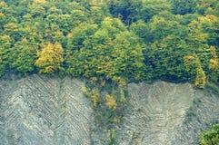 Ο απότομος βράχος Στοκ εικόνες με δικαίωμα ελεύθερης χρήσης