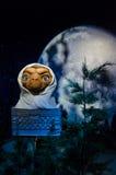Ο αριθμός κεριών του Ε Τ ο εξωγήινος στην κυρία Tussauds Singapore Στοκ εικόνα με δικαίωμα ελεύθερης χρήσης