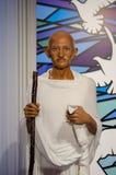 Ο αριθμός κεριών Mahatma Γκάντι στην κυρία Tussauds Singapore Στοκ Εικόνα