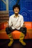 Ο αριθμός κεριών Phua Chu Kang στην κυρία Tussauds Singapore Στοκ εικόνες με δικαίωμα ελεύθερης χρήσης
