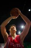 Ο αριθμός κεριών Yao Ming στην κυρία Tussauds Singapore Στοκ Φωτογραφίες