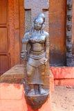 Ο αριθμός στον ινδό ναό Ναός Swami Janardana Ναός Varkala Στοκ Εικόνα