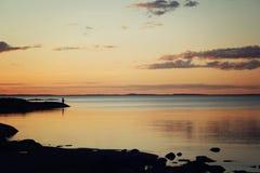 ο αρκτικός Βορράς ρωσικά φύσης του Lapland Νησί Valaam, Δημοκρατία της Καρελίας Στοκ Φωτογραφίες