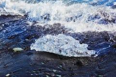 Ο αρκτικός ωκεανός Ισλανδία Στοκ εικόνα με δικαίωμα ελεύθερης χρήσης