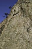 ο αρχαίος Βούδας χάρασε &ta Στοκ εικόνα με δικαίωμα ελεύθερης χρήσης
