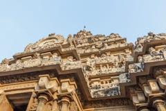 Ο αρχαίος ναός του ναού Kailasanathar και χτίστηκε κατά τη διάρκεια 685-705AD στοκ φωτογραφία με δικαίωμα ελεύθερης χρήσης