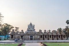 Ο αρχαίος ναός του ναού Kailasanathar και χτίστηκε κατά τη διάρκεια 685-705AD στοκ φωτογραφίες