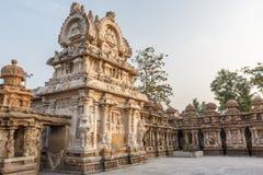 Ο αρχαίος ναός του ναού Kailasanathar και χτίστηκε κατά τη διάρκεια 685-705AD στοκ φωτογραφίες με δικαίωμα ελεύθερης χρήσης