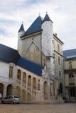 Ο αρχαίος πύργος στο Burgundy παλάτι δουκών. Ντιζόν, Γαλλία Στοκ Φωτογραφίες